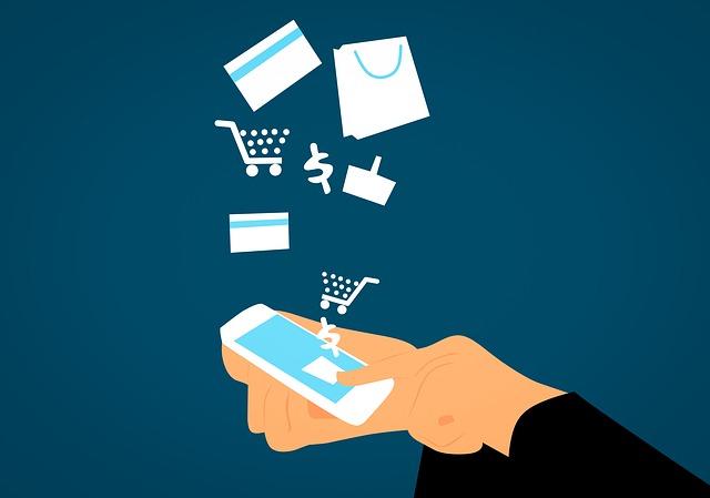 nákup skrze chytrý telefon