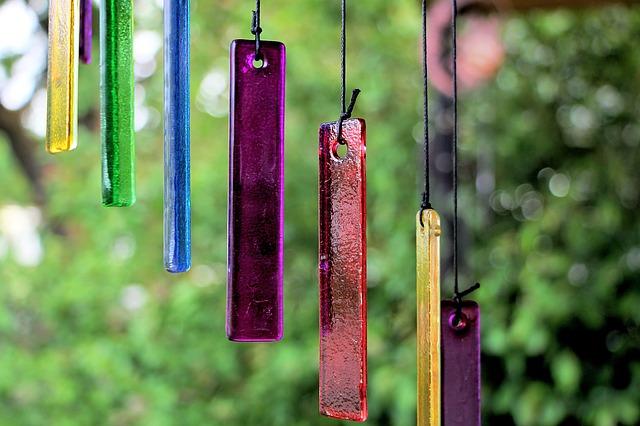 barevná zvonkohra